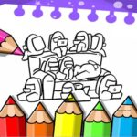 Coloring Book for Among Us